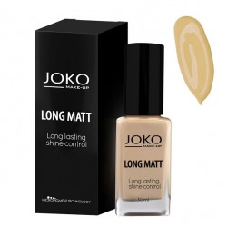 Joko Foundation Long Matt 117 Dark beige